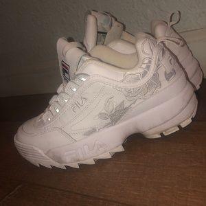 Fila athletic shoes